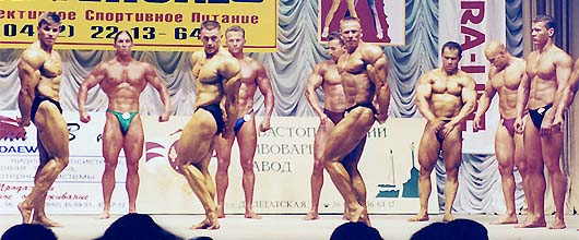 Photos of Sergey Orlov of the tournaments of the bodybuilding