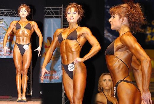 Атлетическое телосложение фото девушки
